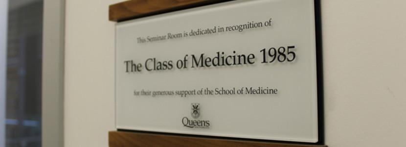 Medicine Class of 1985 image