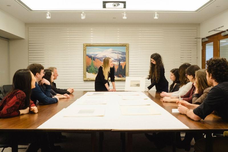 The David McTavish Art Study Room Fund image