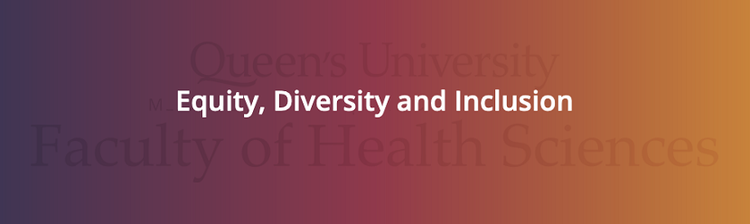 Faculty of Health Sciences Equity, Diversity and Inclusion Fund image