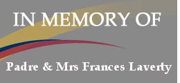 Padre & Mrs Frances Laverty